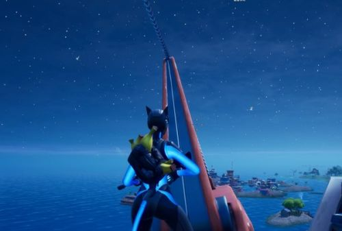 Fortnite: Chapter 2 Season 3 - Dance on top of the Crane at Rickety Rig