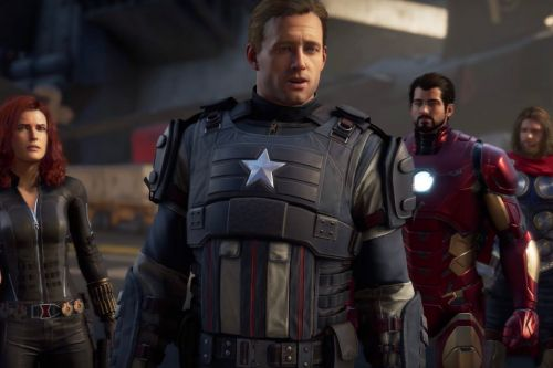 You'll be able to try out the alright-looking Avengers game next month