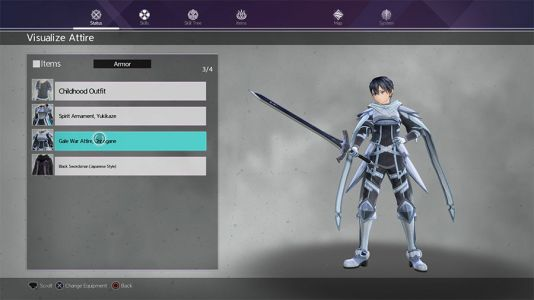 Where To Find DLC Costumes In Sword Art Online Alicization Lycoris
