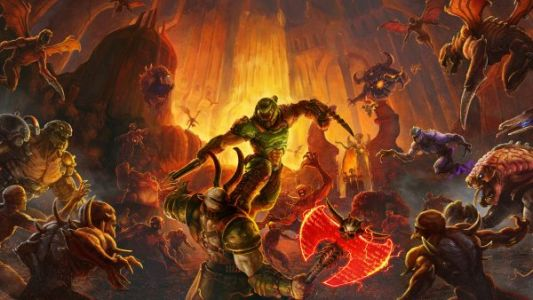 Doom Eternal The Ancient Gods: Part One is out today on Switch