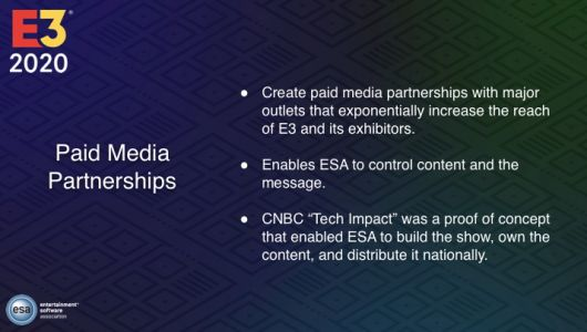 """Shameless E3 organisers want to pay media in order to """"control content and the message"""""""