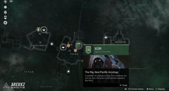 Destiny 2: Xur location and inventory, January 24-27