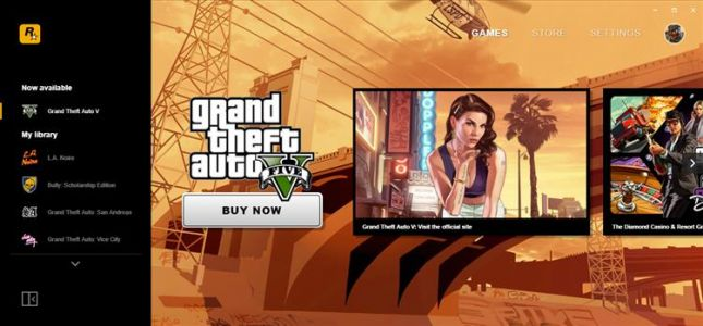 Rockstar games launcher now available, offering free game