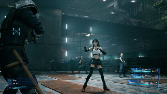 How Combat in Final Fantasy VII Remake Blends the Best of Both Worlds