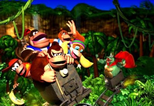 RARE's Stop 'N' Swop feature was also planned for Donkey Kong 64, but was removed due to technical issues