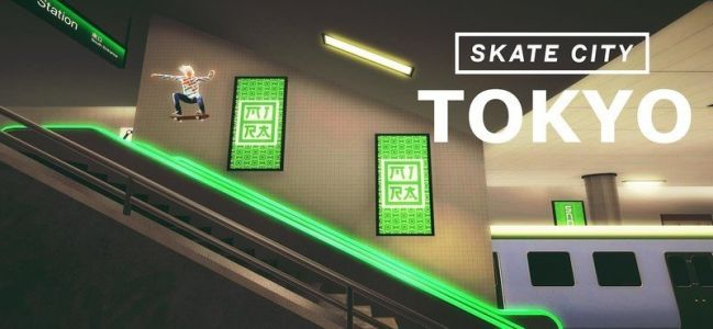 Apple Arcade's Skate City is getting a Tokyo level for the Olympics