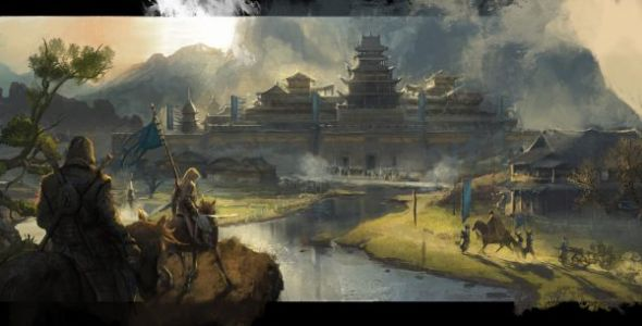 Concept art for an Assassin's Creed game set in China has surfaced online
