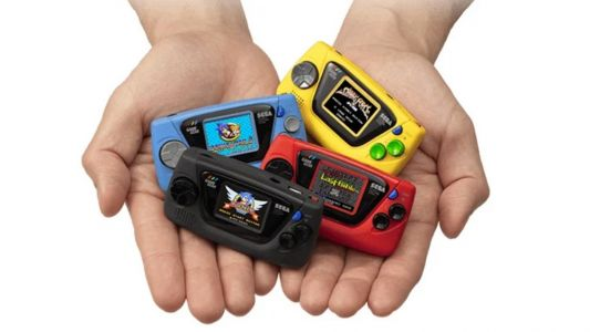 Sega Game Gear Micro includes four games, each color variant has different titles