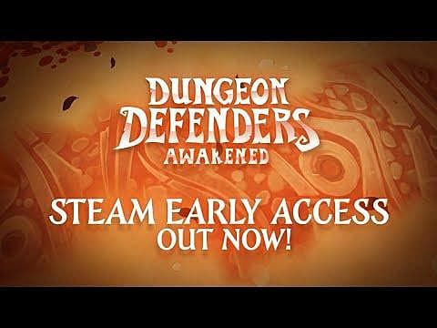 Dungeon Defenders: Awakened Now in Steam Early Access