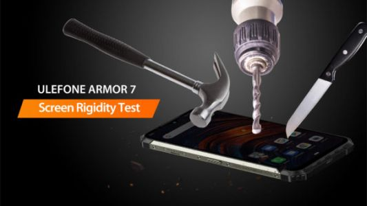 Ulefone Armor 7's Display Can Handle A Lot Of Abuse: Video