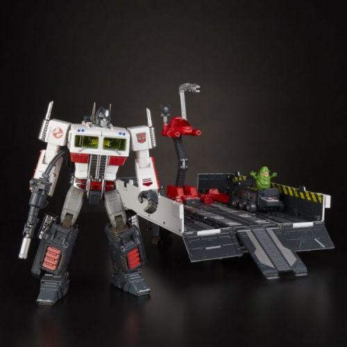Transform And Roll Out With A New Transformers x Ghostbusters Figure