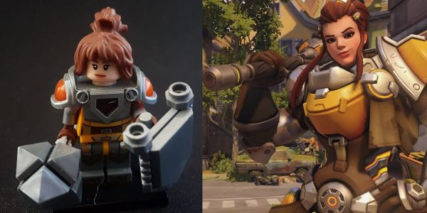 Overwatch Fan Creates Amazing Custom Lego Figures | Game Rant