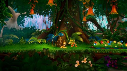 Platformer Marsupilami: Hoobadventure announced for PS4, Xbox One, Switch, and PC