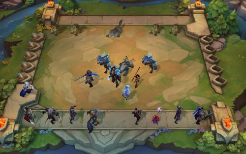 League of Legends adjacent autobattler Teamfight Tactics is coming to mobile devices