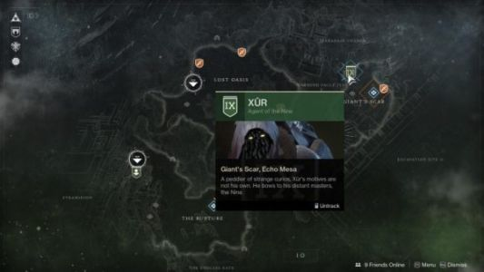 Destiny 2: Xur location and inventory, April 3-6