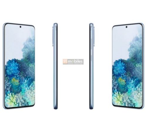 The Galaxy S20 & S20+ Look Amazing In These Official Renders