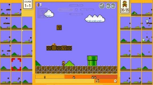 Super Mario Bros. 35 brings the battle royale genre to the classic series