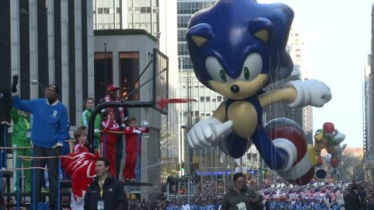 Footage of the Infamous Sonic Parade Float Accident Has Emerged