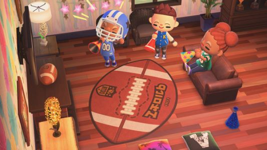 Super Bowl and Spring items revealed for Animal Crossing: New Horizons
