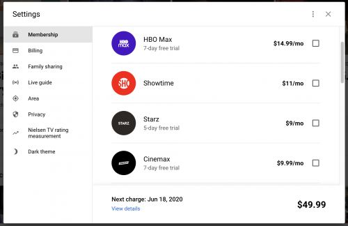 You Can Now Subscribe To Cinemax, HBO & HBO MAX Through YouTube TV