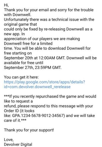 Downwell Will be Free to Download from the 20th-27th of September
