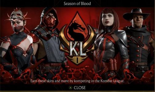 Mortal Kombat 11's Kombat League begins tomorrow