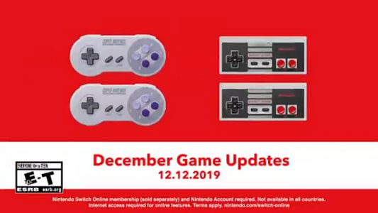Nintendo Switch Online Getting 6 New Classic Games
