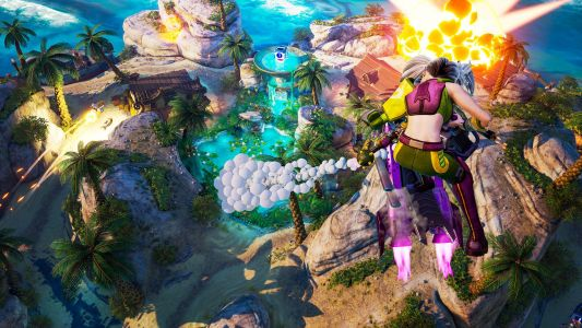 """Rocket Arena """"World of Crater"""" Trailer Showcases Various Maps"""