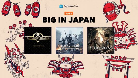 PlayStation Store Big in Japan Sale Discounts Games Up to 70% Off in the US