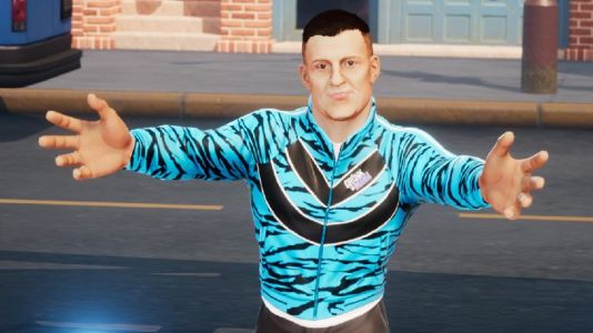 If you had bought WWE 2K Battlegrounds, you could've downloaded 'Gronkster' today