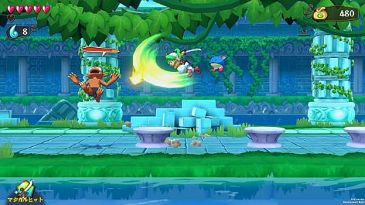 ININ Games Announces Wonder Boy: Asha in Monster World Release Date
