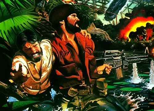 Guide Guevara and Castro to freedom in SNK's 1987 release Guerrilla War