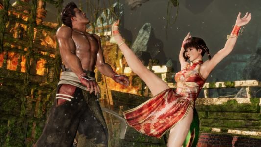 You can bounce around in Dead or Alive 6's Deluxe Demo right now