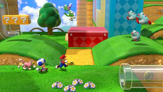 Super Mario 3D World + Bowser's Fury to include online play