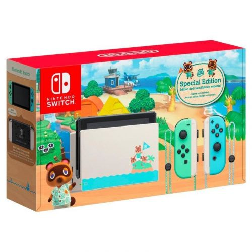 Animal Crossing Edition Nintendo Switch is back in stock on Amazon for Cyber Monday