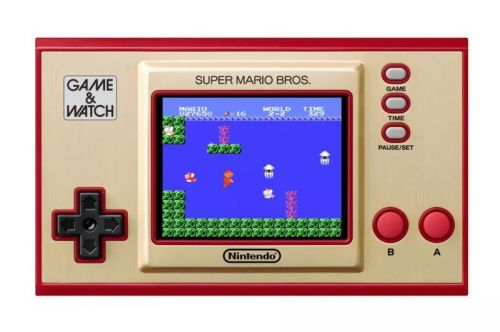 Nintendo announces Super Mario Game & Watch handheld to celebrate the series' 35th anniversary