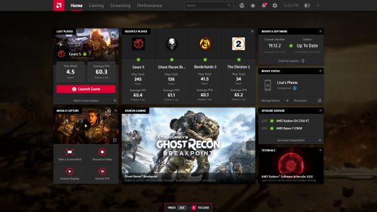AMD's Radeon Graphics Card software gets a major refresh with impressive new features