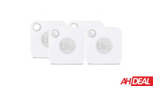 Never Lose Your Keys Again With A Tile Mate 4-Pack