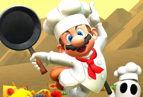 Mario Kart Tour's 'Cooking Tour' adds Chef Mario and Choco Island