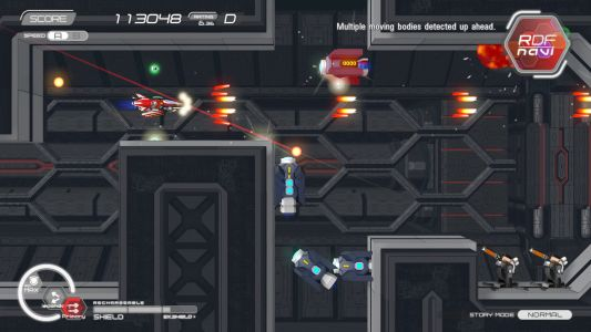 Natsuki Chronicles brings slick side-scrolling shooter action to PlayStation on February 18