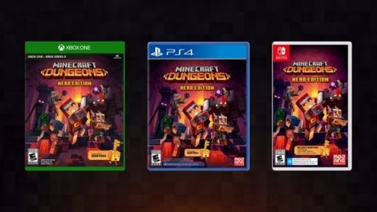 Minecraft Dungeons to Receive New DLC, Free Update, and Physical Release in September