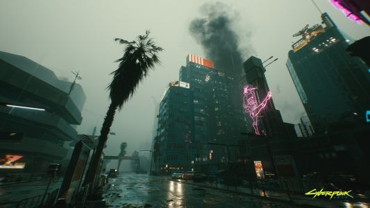 Cyberpunk 2077 Shows Off New Artwork For The Watson District And Arasaka Factory