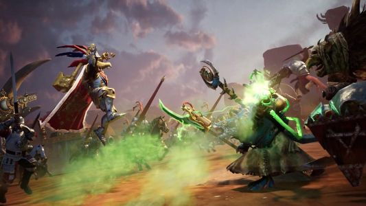 Total War Battles: Warhammer is a mobile version of the popular fantasy RTS series