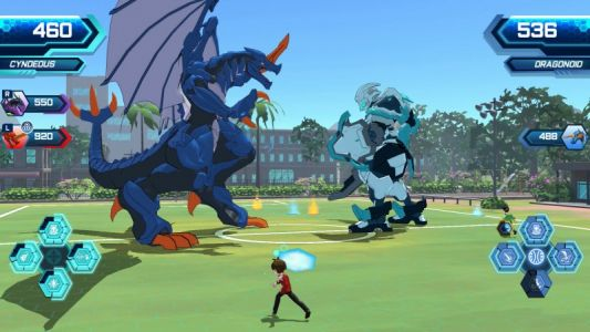 WayForward Shows Off Switch Exclusive Bakugan: Champions of Vestroia