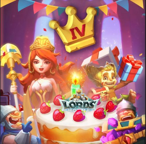 Lords Mobile is 4 Years Old and its Birthday Present is T5 Troops