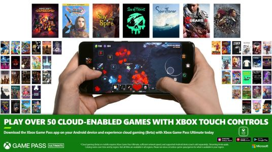 Microsoft Adds Touch Controls to More than 50 Games on xCloud Including 'Dragon Quest XI S' and 'Gears 5'