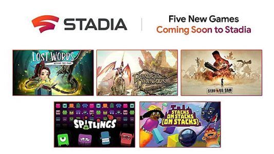 Google Stadia Gets New Five New Games, But Only One Has a Release Window