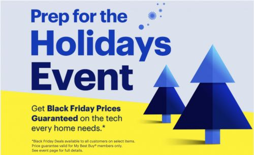 "Best Buy's ""Prep For The Holidays Sale"" Discounts Philips Hue, Sony Smart TVs, Roku & More"