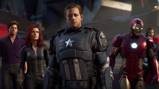 Marvel's Avengers Collector's Edition Includes 12 Inch Captain America Statute