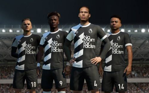 EA will be adding 'No Room For Racism' player kits to FIFA 20